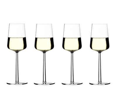 IITTALA Glas »iittala Essence Weißweinglas 33 cl, 4er Set«, Kristallglas