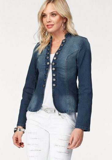 Melrose Kurzblazer, aus Jeans