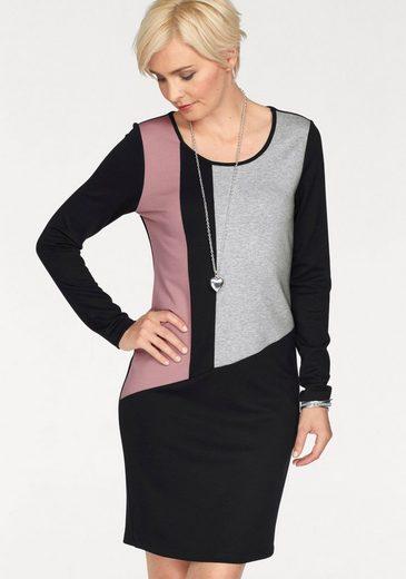 Boysen's Jerseykleid, mit modernen Farbakzenten