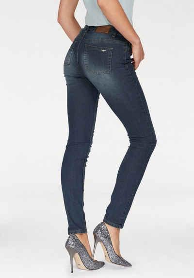 Cropped Skinny-Jeans mit niedrigem Bund Vivance In Deutschland Zu Verkaufen ktTIxqg