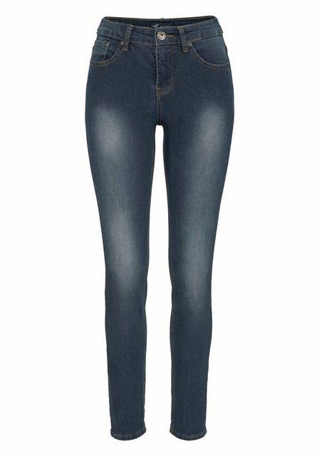 Hosen - Arizona Skinny fit Jeans »Shaping« High Waist › blau  - Onlineshop OTTO