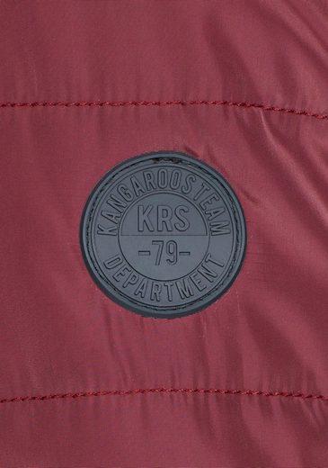 KangaROOS Kurzjacke, mit trendy Details