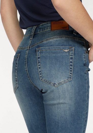 Arizona Gerade Jeans Shaping, High Waist