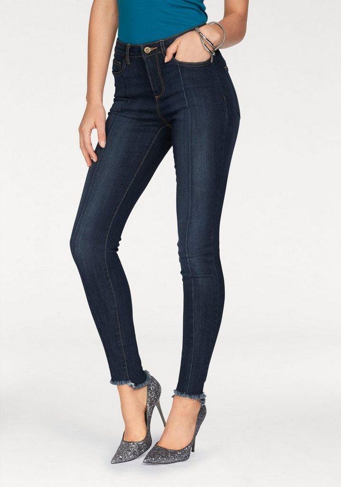 arizona skinny fit jeans bein mit steppnaht vorn und. Black Bedroom Furniture Sets. Home Design Ideas