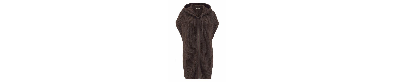 Boysen's Kapuzenstrickjacke, in modischer Capes-Form
