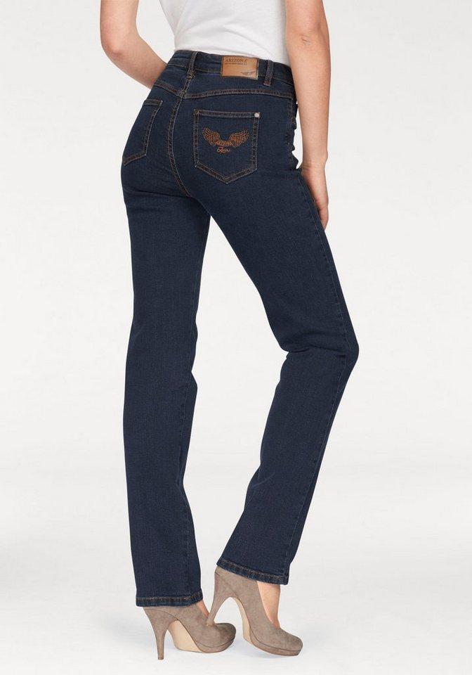 Arizona Gerade Jeans »Comfort-Fit« High Waist | Bekleidung > Jeans > Gerade Jeans | Blau | Jeans - Denim | Arizona