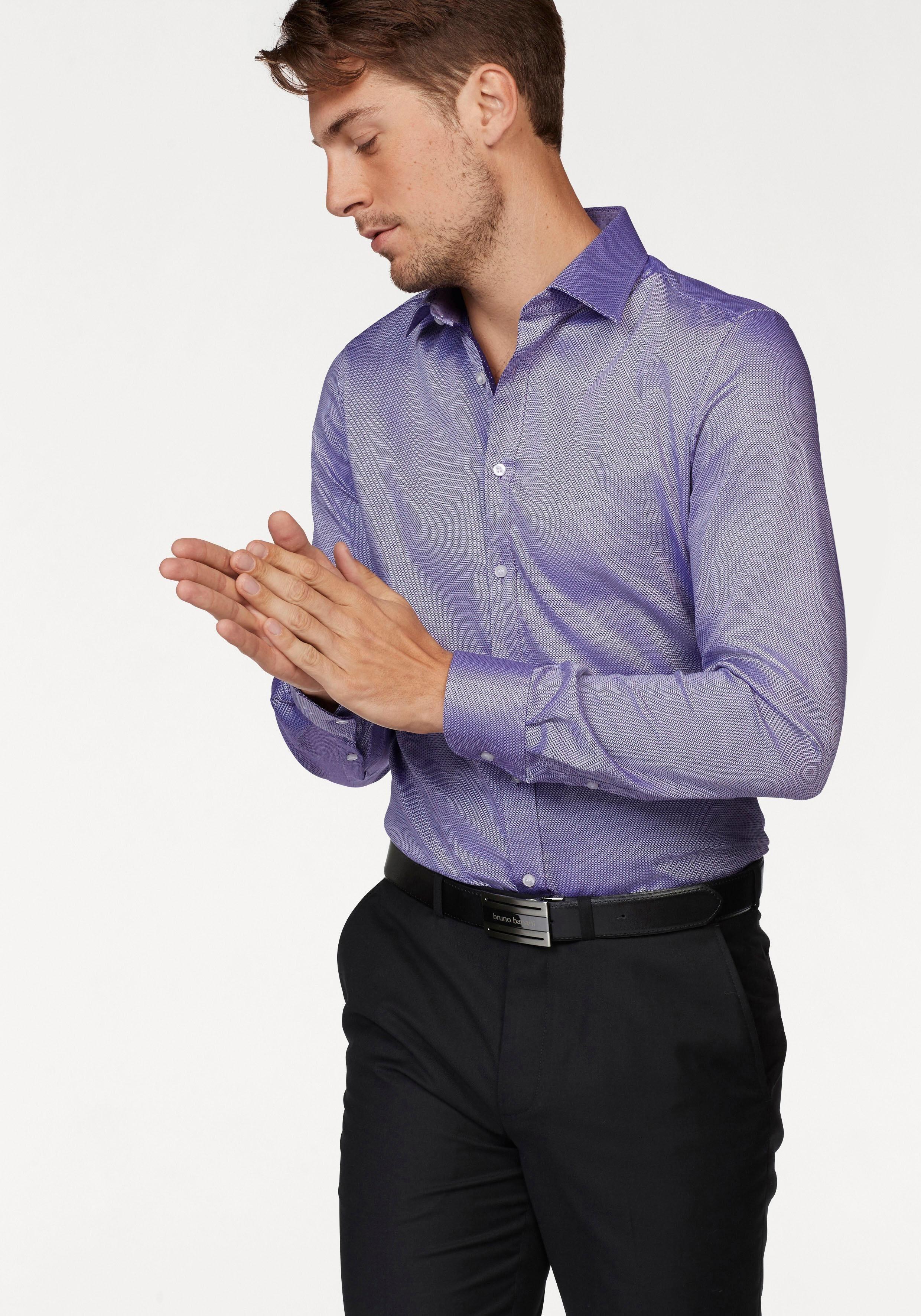 OLYMP Businesshemd »Level Five body fit« Minimaloptik