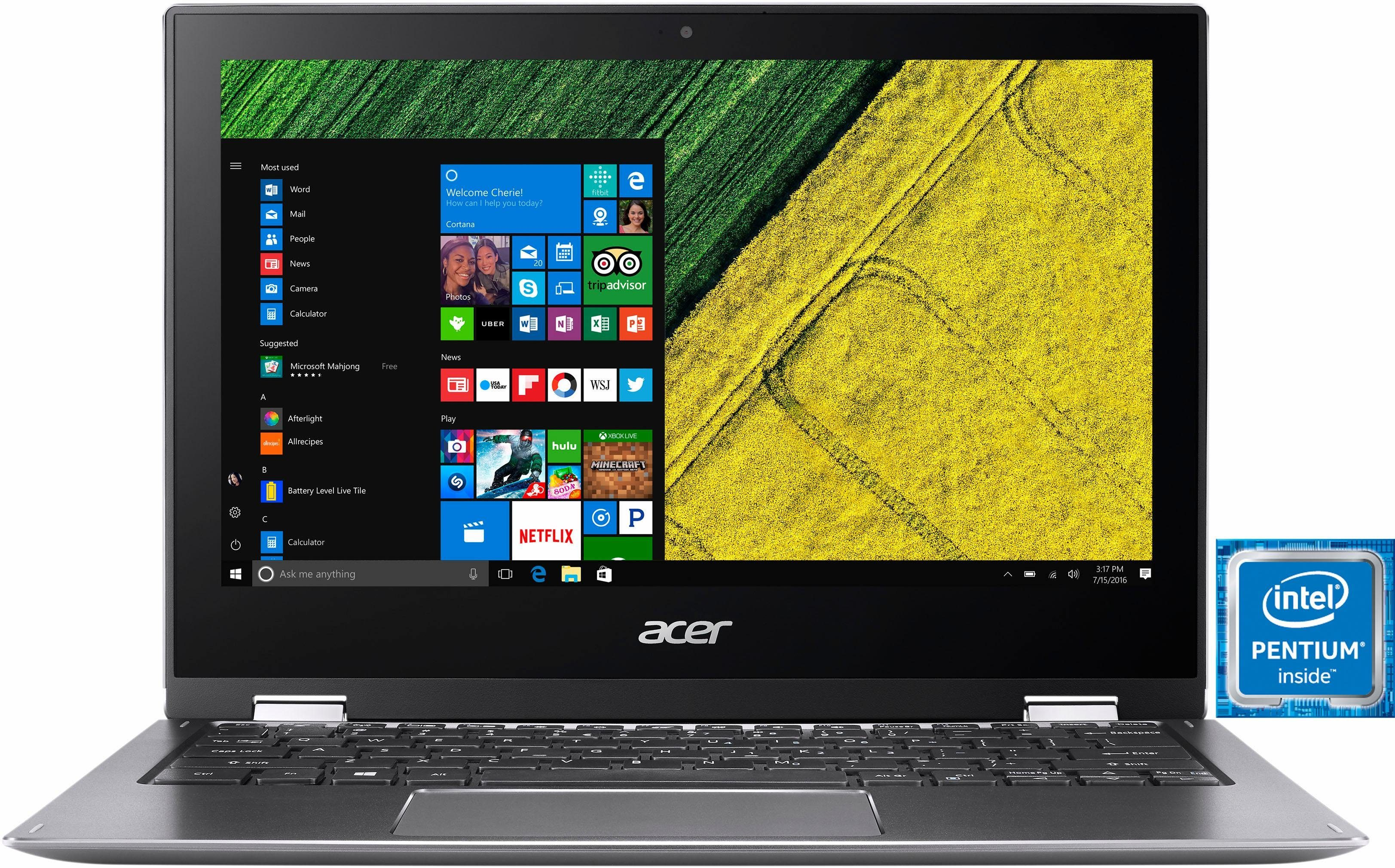 """Acer Spin 1 (SP111-32N-P9VD), 11,6"""" Notebook"""