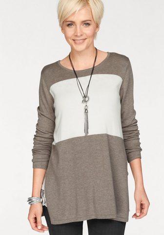 BOYSEN'S Пуловер длинный »Colour-Blocking...