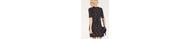Boysen's A-Linien-Kleid, mit romantischem Alloverdruck