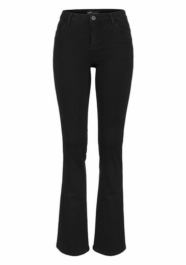 Arizona Bootcut-Jeans mit Thermo Effekt, High Waist
