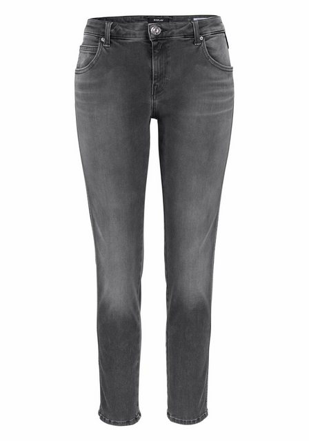 Hosen - Replay Slim fit Jeans Hyperflex »KATEWIN« › grau  - Onlineshop OTTO