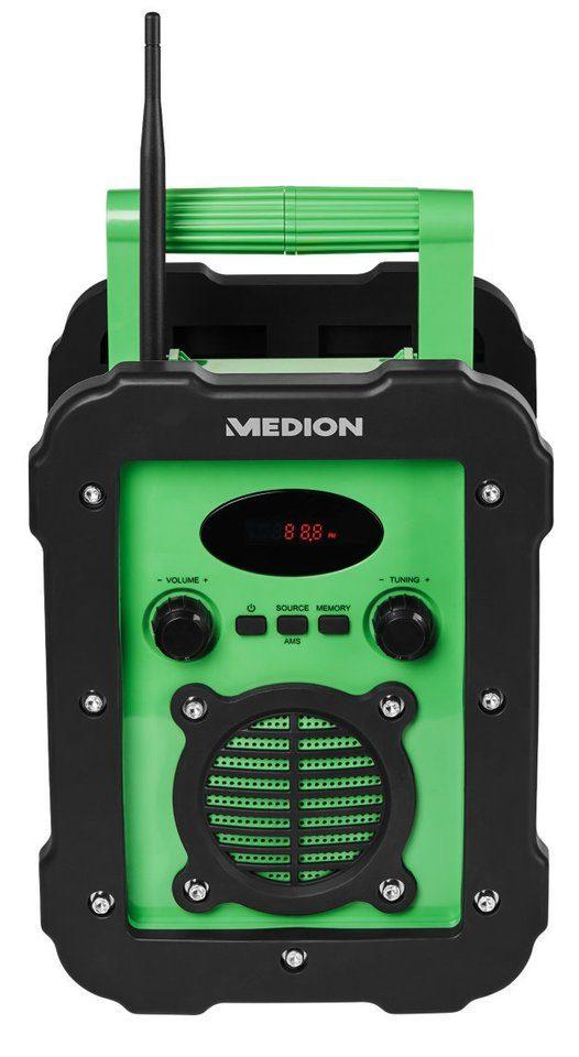 MEDION® Spritzwassergeschütztes Freizeitradio »LIFE® E66285 (MD 84815)«