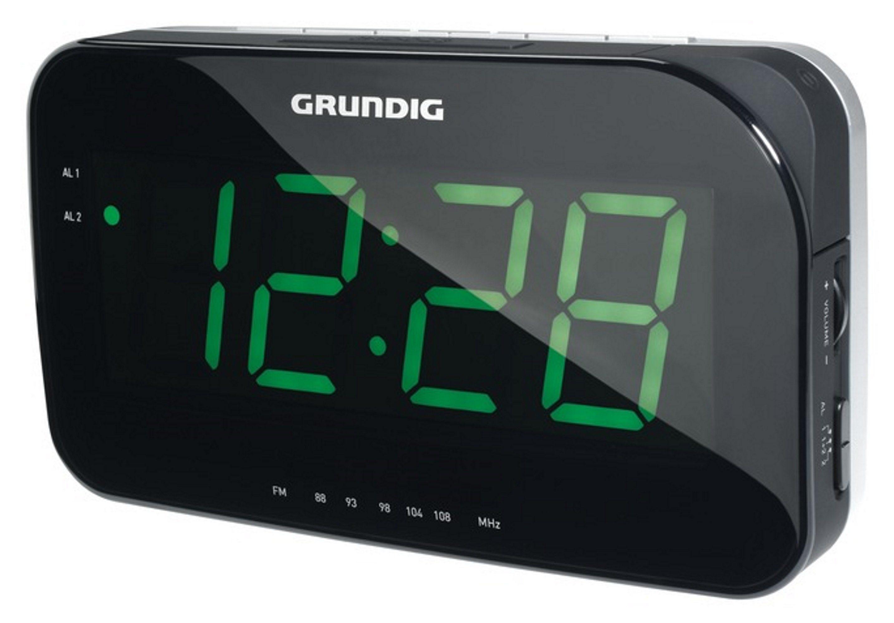 Grundig Elegantes Uhrenradio mit großer LED Anzeige »Sonoclock 490«