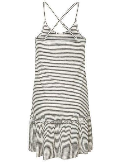 JUNAROSE Peplum-Detail- Kleid