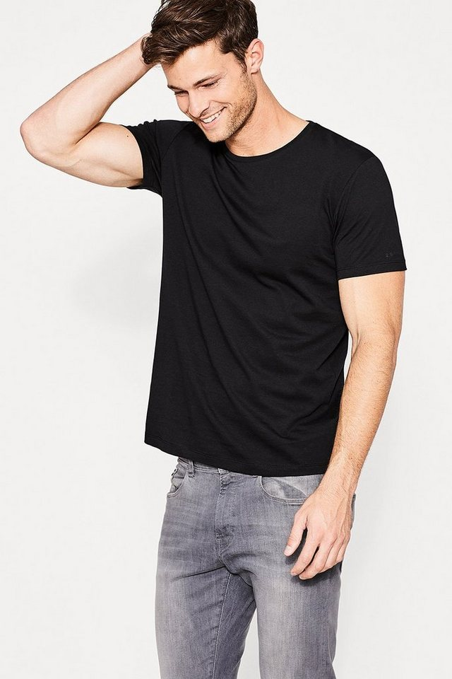 esprit casual 2 pack t shirt aus organic cotton jersey. Black Bedroom Furniture Sets. Home Design Ideas