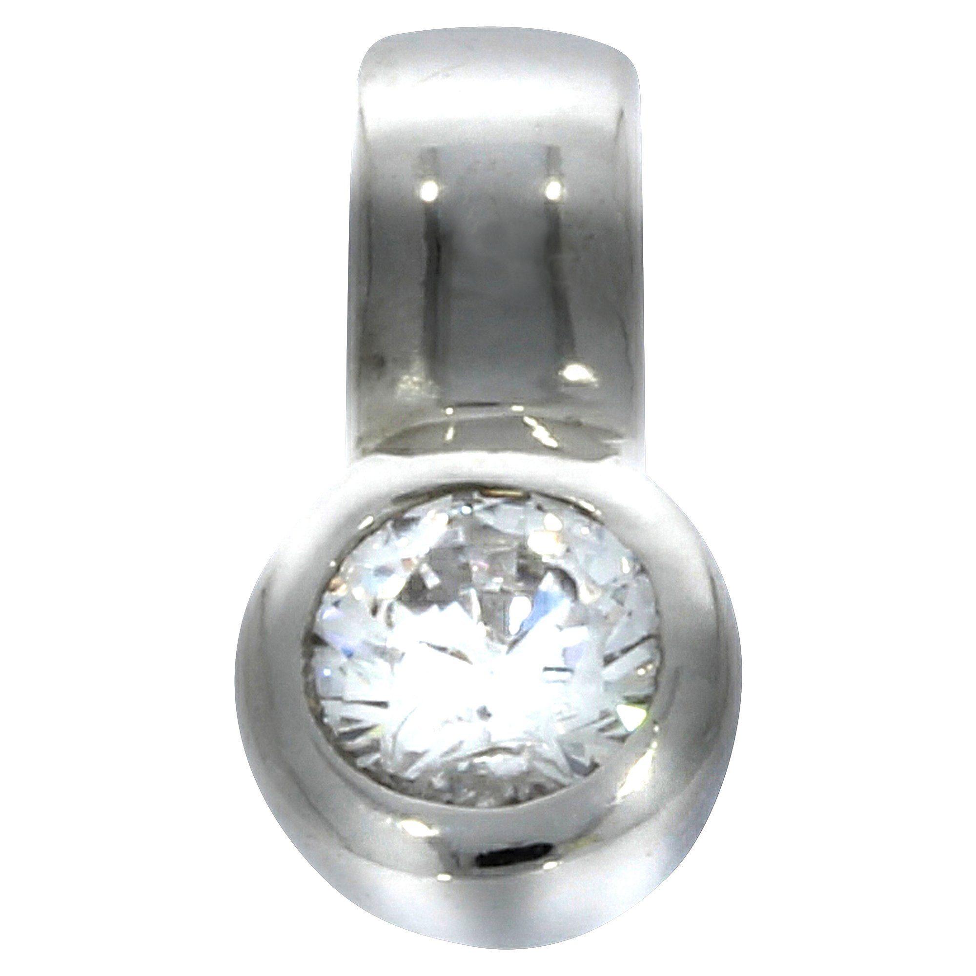 Firetti Anhänger »925/- Sterling Silber rhodiniert Zirkonia«