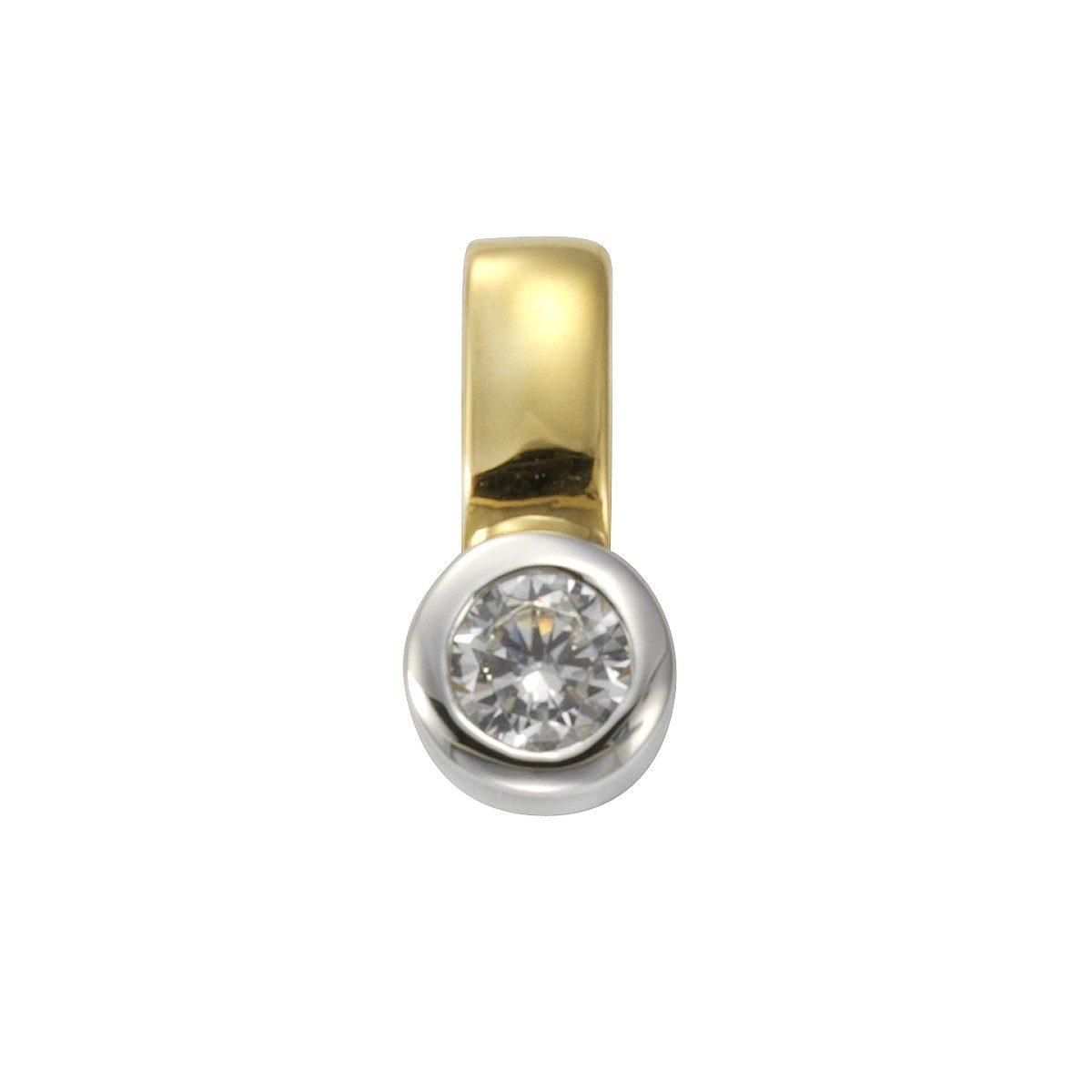 VIVANCE Anhänger »925/- Sterling Silber rhodiniert«