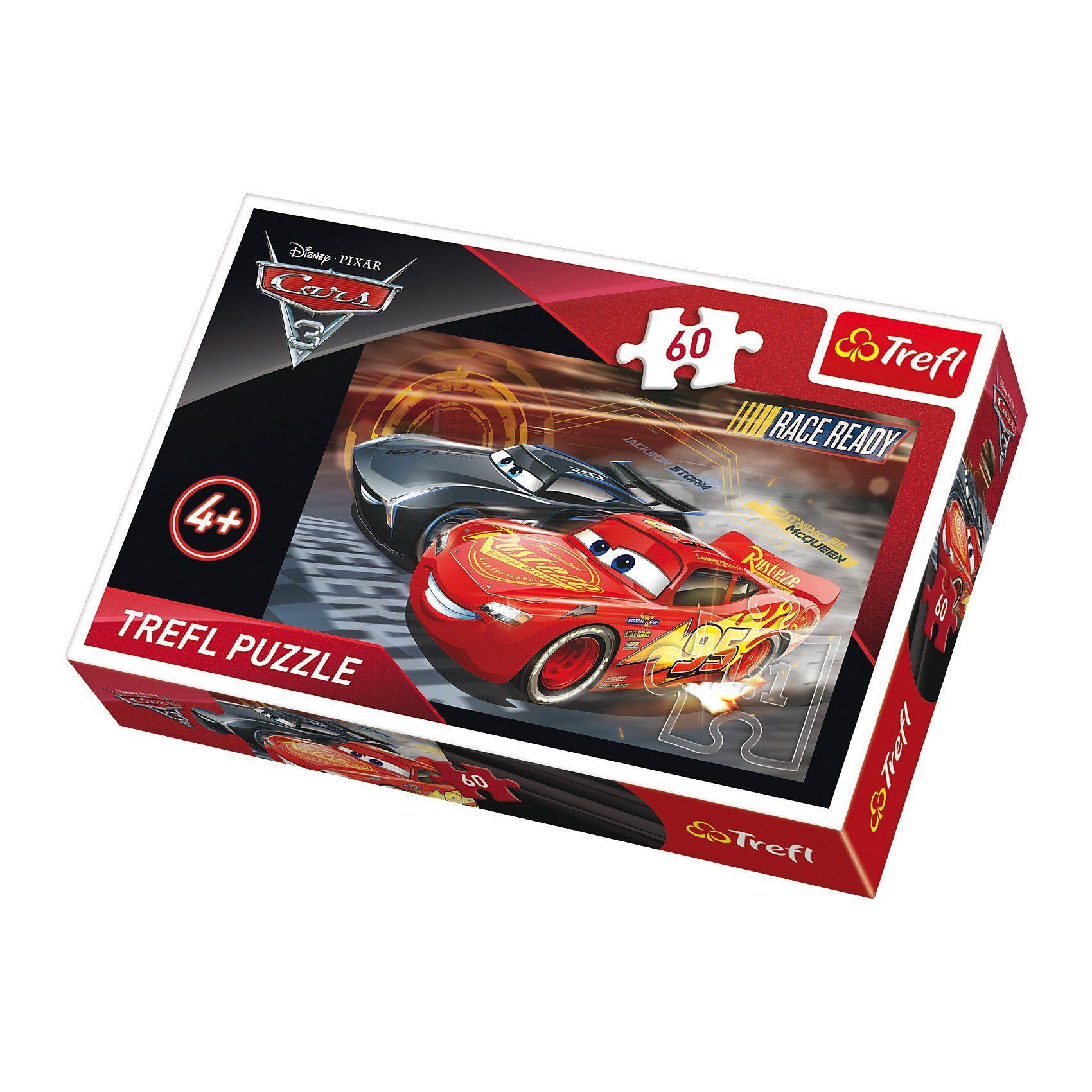 Trefl Puzzle 60 Teile - Cars 3