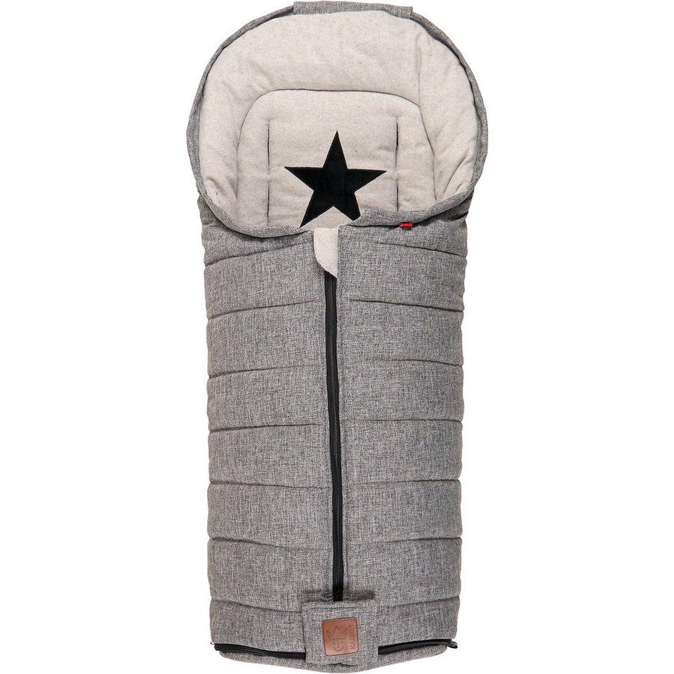kaiser fu sack shinny schwarz grau melange kaufen otto. Black Bedroom Furniture Sets. Home Design Ideas