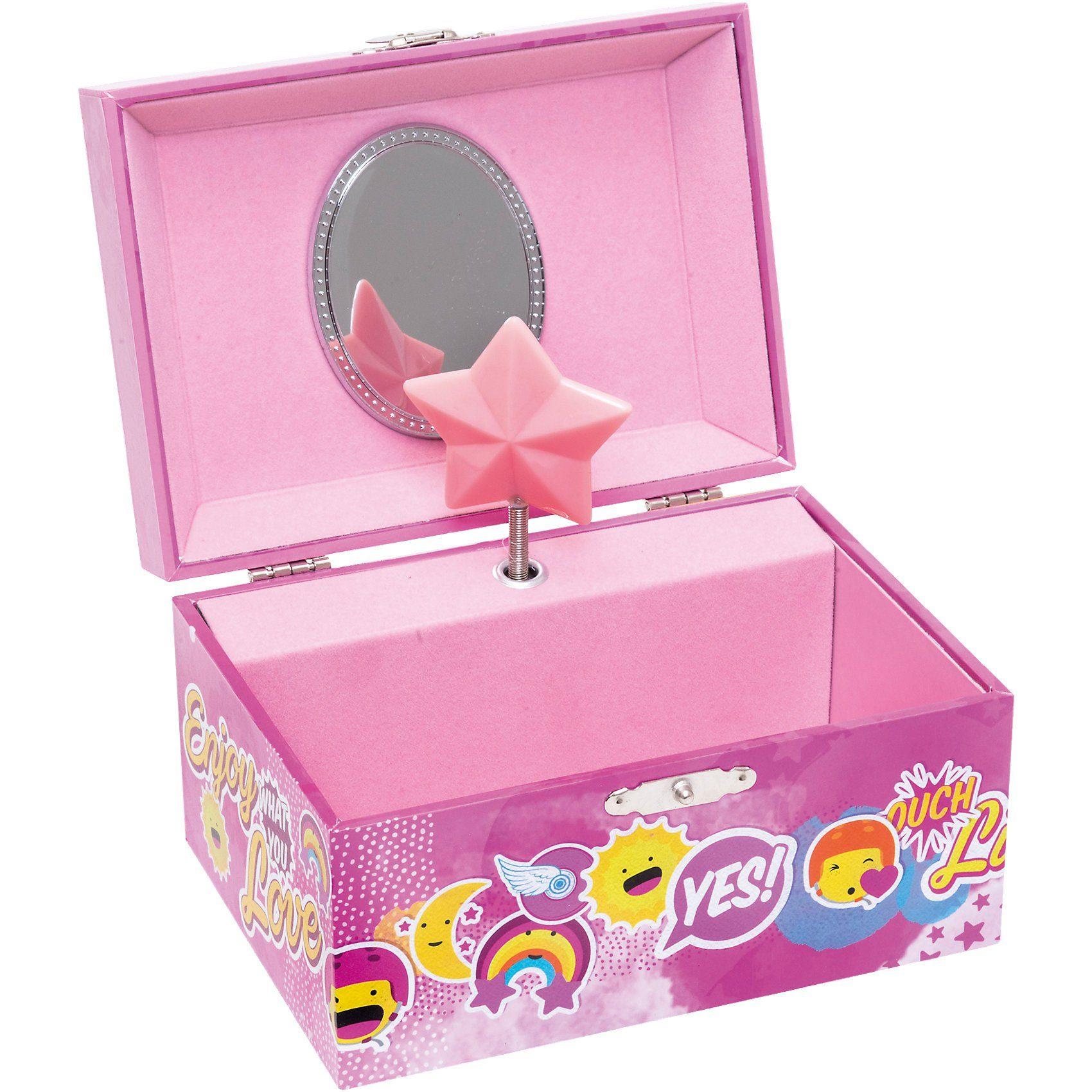 JOY TOY Soy Luna Schmuckschatulle mit Spieluhr in Geschenkverpackung