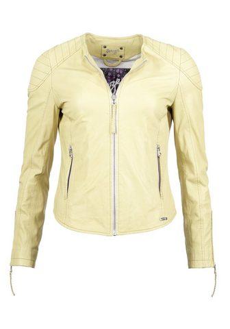 Куртка кожаная »Bird«