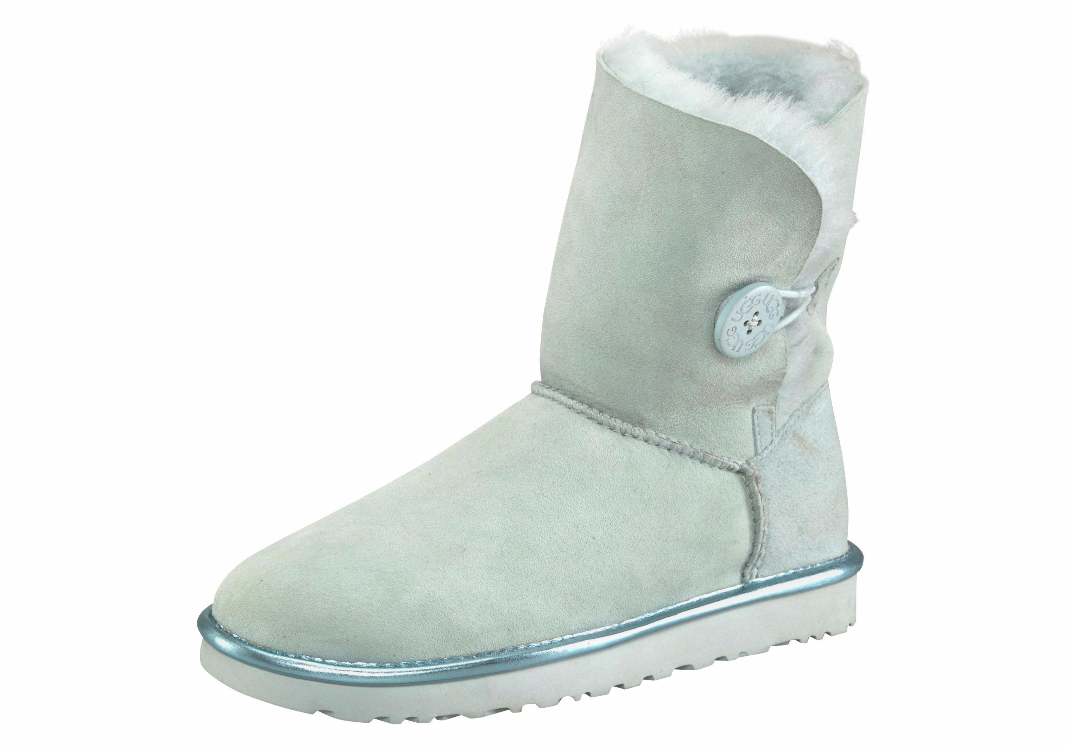 UGG »Bailey Button 2 Metallic« Winterboots mit dekorativem Knopf und Metallic Detail online kaufen | OTTO