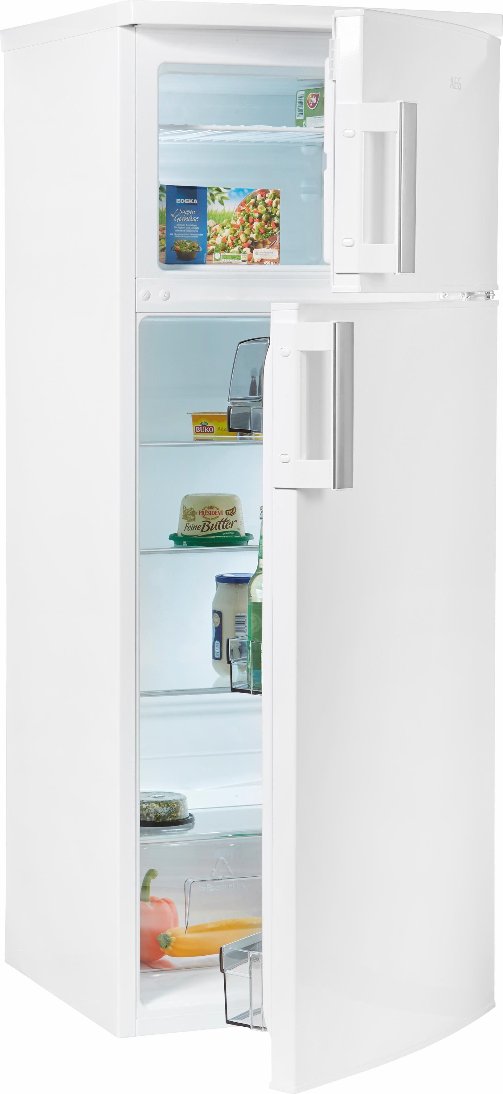 AEG Kühlschrank RDB52311AW, 140,4 cm hoch, 54,5 cm breit