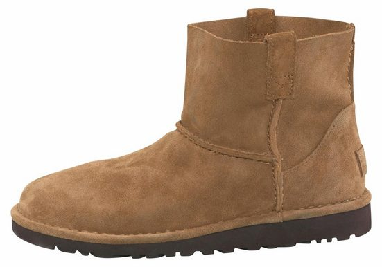 Ugg Classic Mini Unlined Ankle Boot With Leather Insole