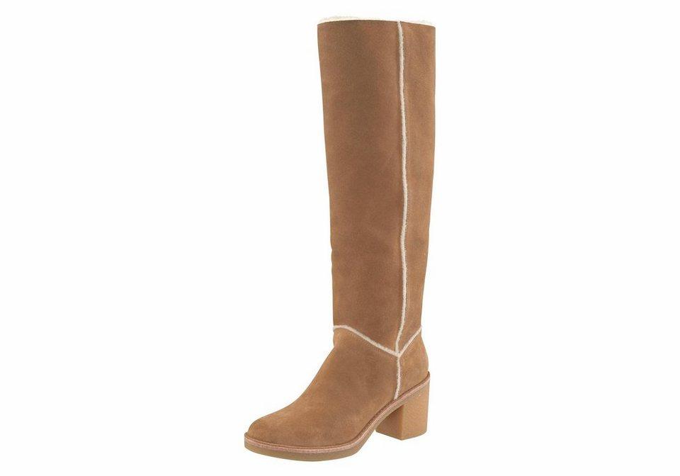 2793374ac3b060 UGG »Kasen Tall« Stiefel mit dekorativen Nähten
