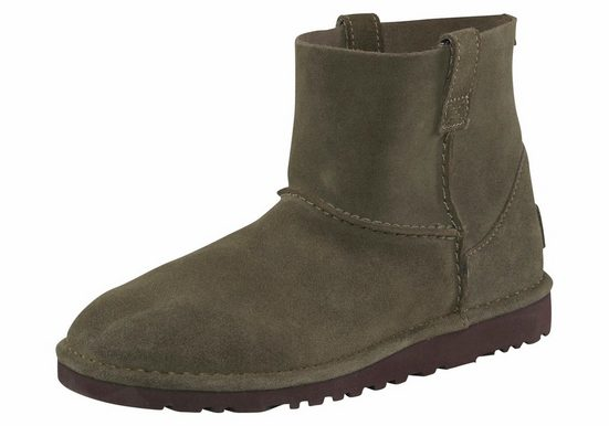 Unlined innensohle Mit Mini« Leder »classic Ugg Stiefelette 5vY0xSwq