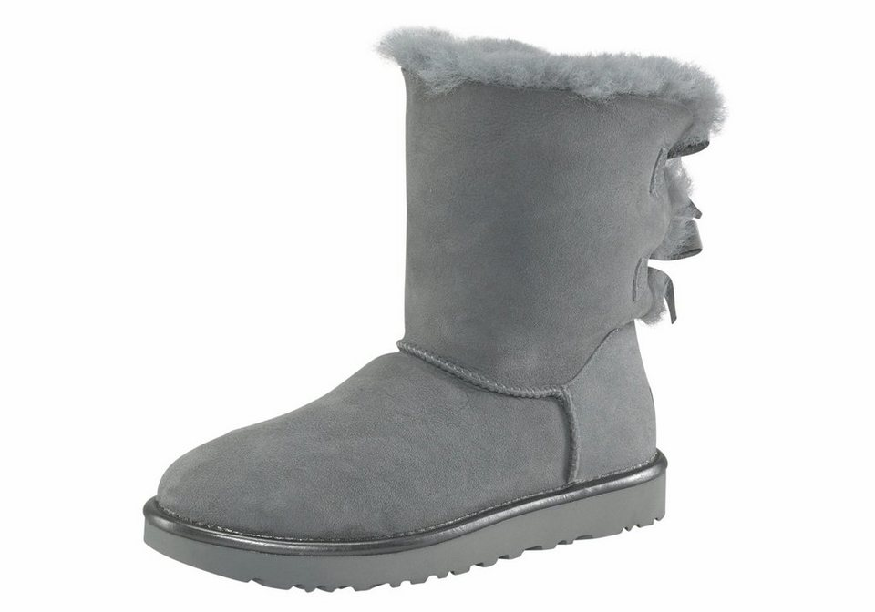 ugg bailey bow 2 metallic winterboots mit sch nen satinschleifen online kaufen otto. Black Bedroom Furniture Sets. Home Design Ideas