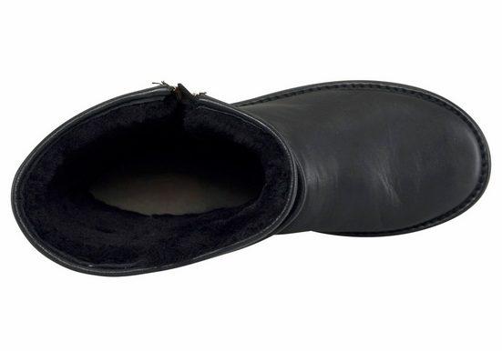Stiefel Schaft »aviva« Reißverschluss Ugg Doppeltem Am Mit Sqg5wwC