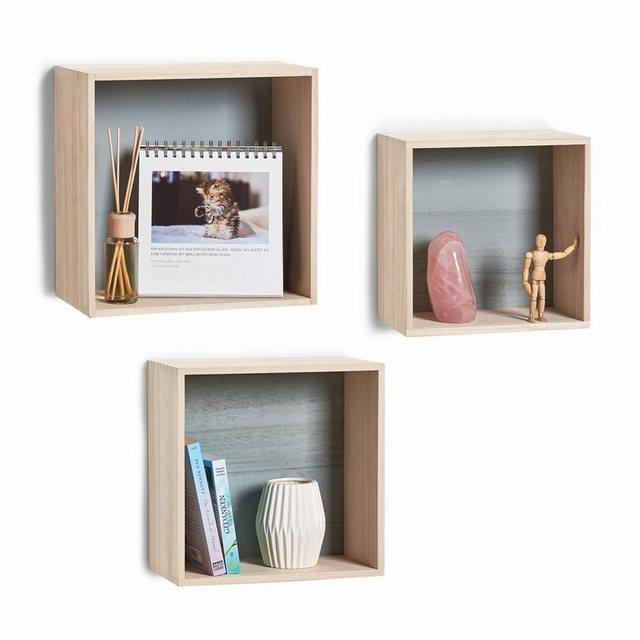 Regale - Zeller Present Regalwürfel »Cubes«, Set 3 tlg.  - Onlineshop OTTO