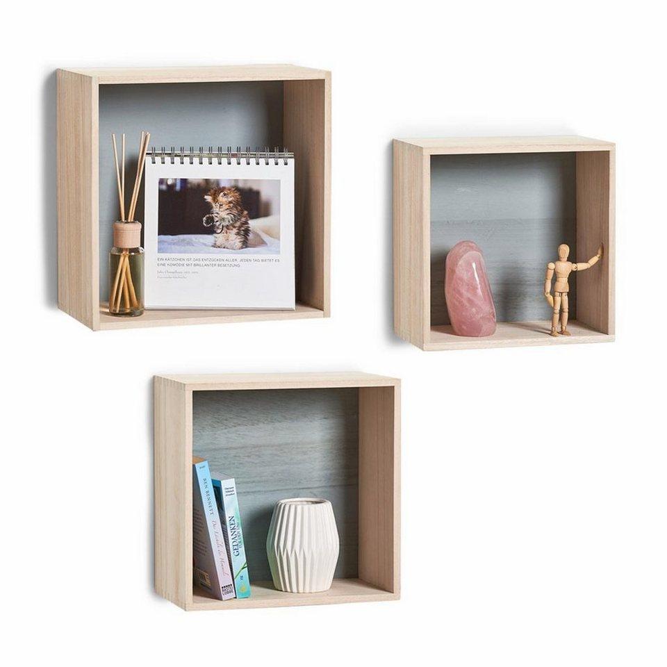 andas wand regal set cubes 3 tlg online kaufen otto. Black Bedroom Furniture Sets. Home Design Ideas