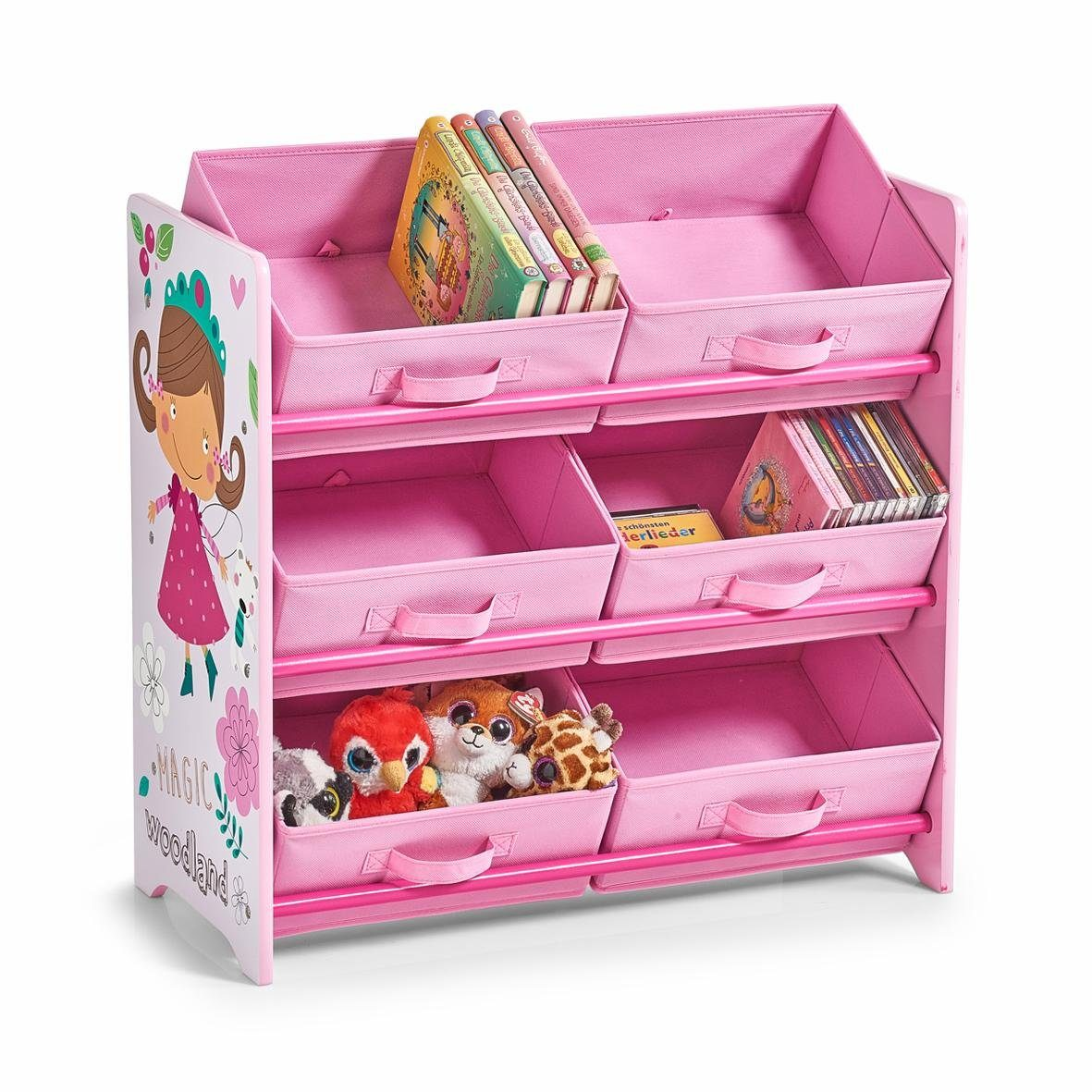 Home affaire Kinder-Regal m. Vliesboxen »Girly«