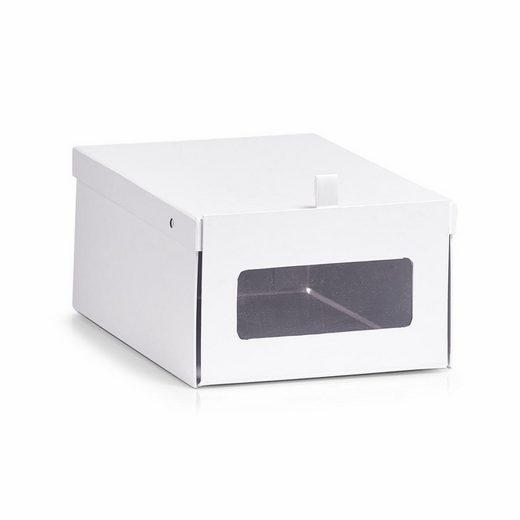 Zeller Schuh-Box, Pappe, 23x35x14