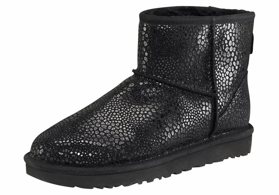 ugg classic mini glitzy winterboots mit sch nem glitzer druck online kaufen otto. Black Bedroom Furniture Sets. Home Design Ideas