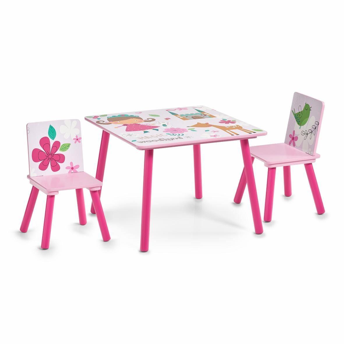Home affaire Kinder-Sitzgarnitur »Girly«, 3-tlg.
