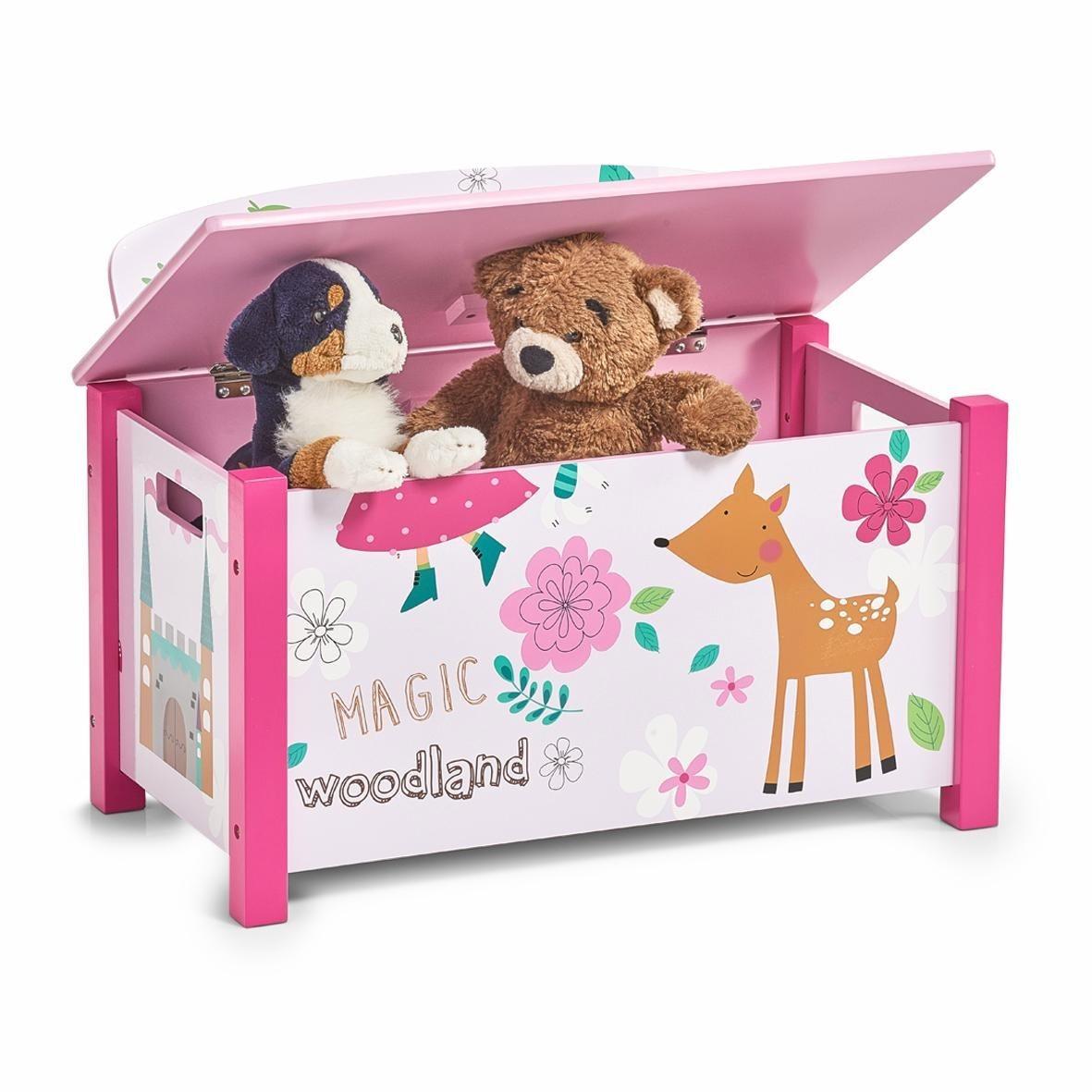 Home affaire Kinder-Sitztruhe »Girly« | Küche und Esszimmer > Sitzbänke > Sitztruhen | Home affaire