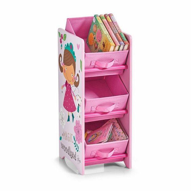 Regale - Zeller Kinder Regal m. Vliesboxen »Girly«  - Onlineshop OTTO