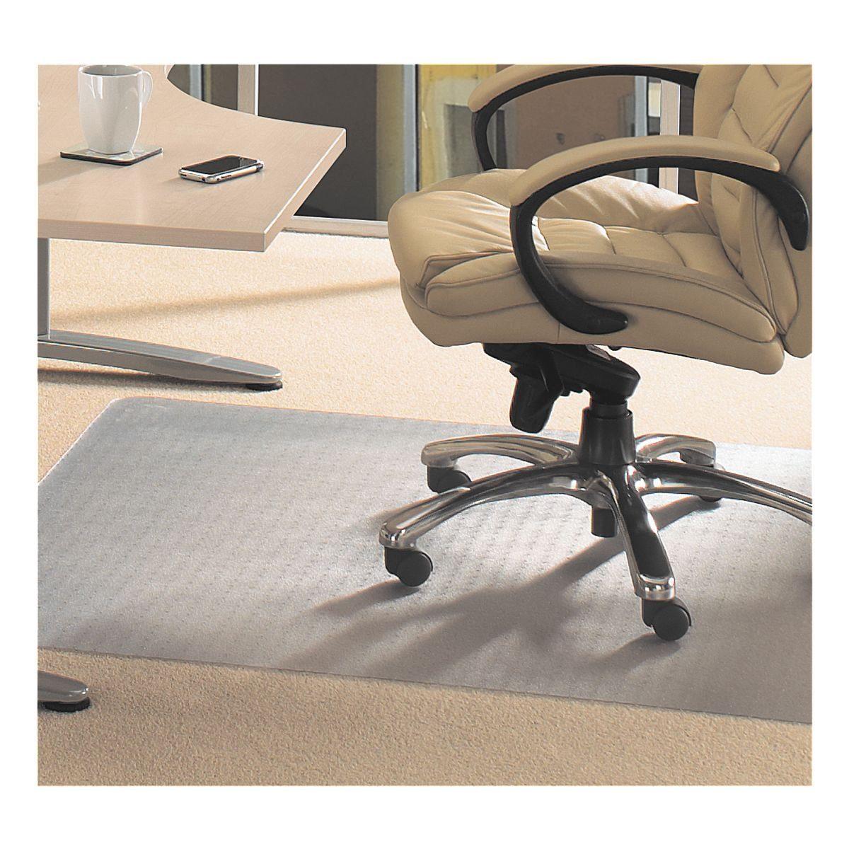 FLOORTEX Bodenschutzmatte 120x130 cm, rechteckig, für mittelflori... »Evolutionmat«