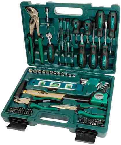 BRUEDER MANNESMANN WERKZEUGE Werkzeugkoffer »86-tgl.«, 86-tgl.