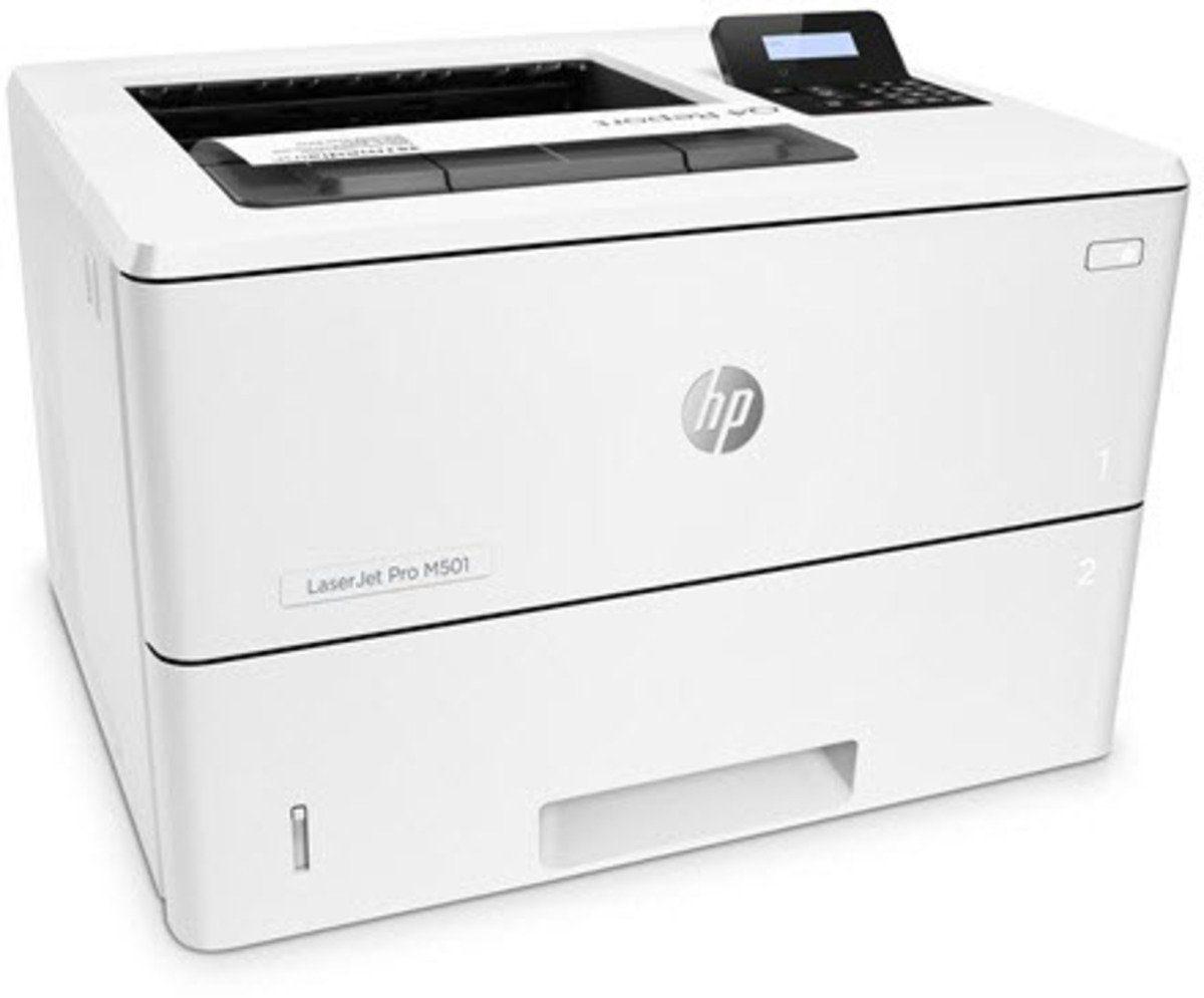 HEWLETT-PACKARD Monolaser-Drucker »LaserJet Pro M501n Monolaserdrucker«