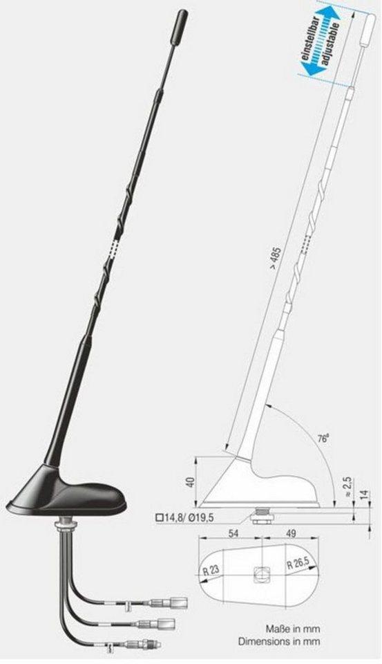 antenne bad blankenburg dachantenne cb gsm900 1800 gps. Black Bedroom Furniture Sets. Home Design Ideas