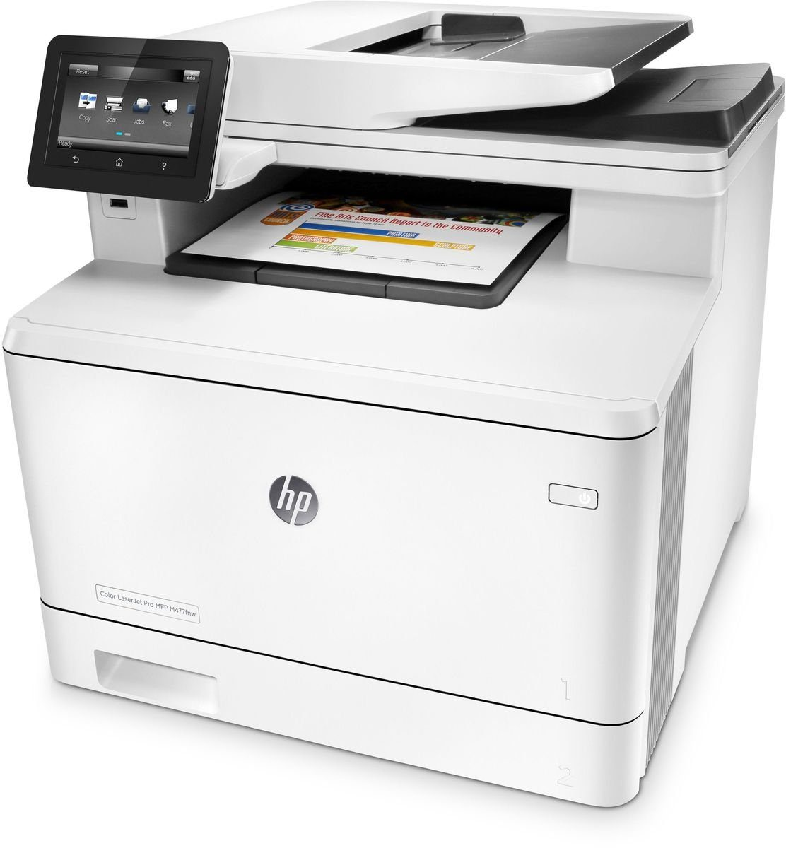 HEWLETT-PACKARD Farblaser-Multifunktionsdrucker »MFP M477fnw 4in1 Multifunktionsdrucker«
