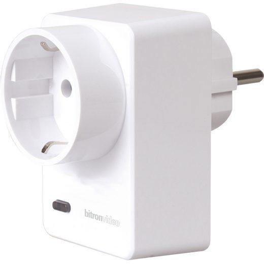 bitronhome Smart Home Zubehör »Bitron Video Zwischenstecker mit Dimmer«