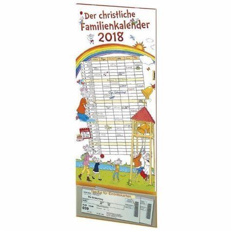 Kalender »Der christliche Familienkalender 2018«