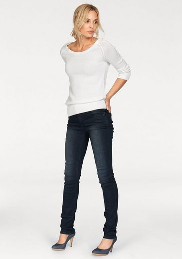 Arizona Skinny-fit-Jeans Shaping, Mid Waist