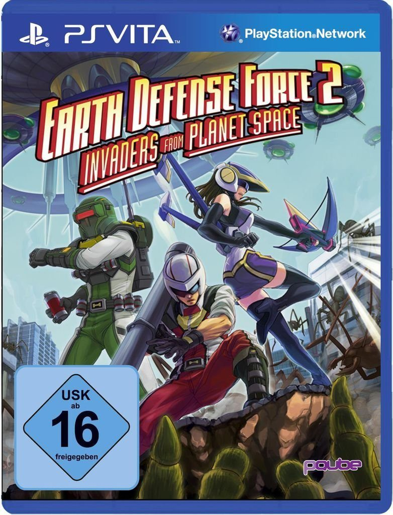 PQube Playstation Vita - Spiel »Earth Defense Force 2: Invaders from Planet Space«